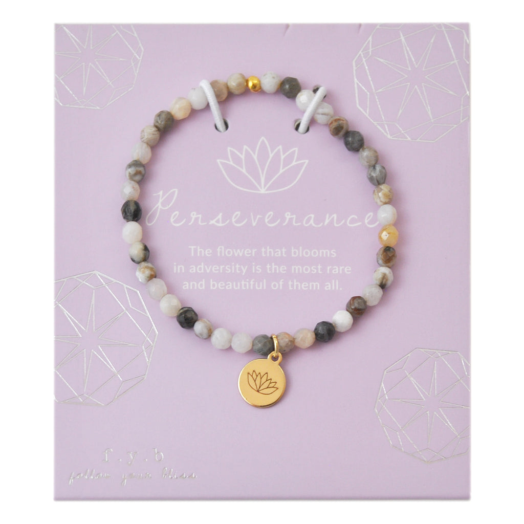 MINI FLOWER AGATE PERSEVERANCE - eff.Y.bee