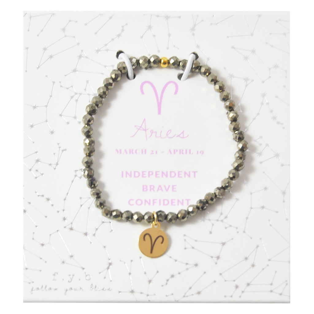 MINI PYRITE ARIES BRACELET - eff.Y.bee