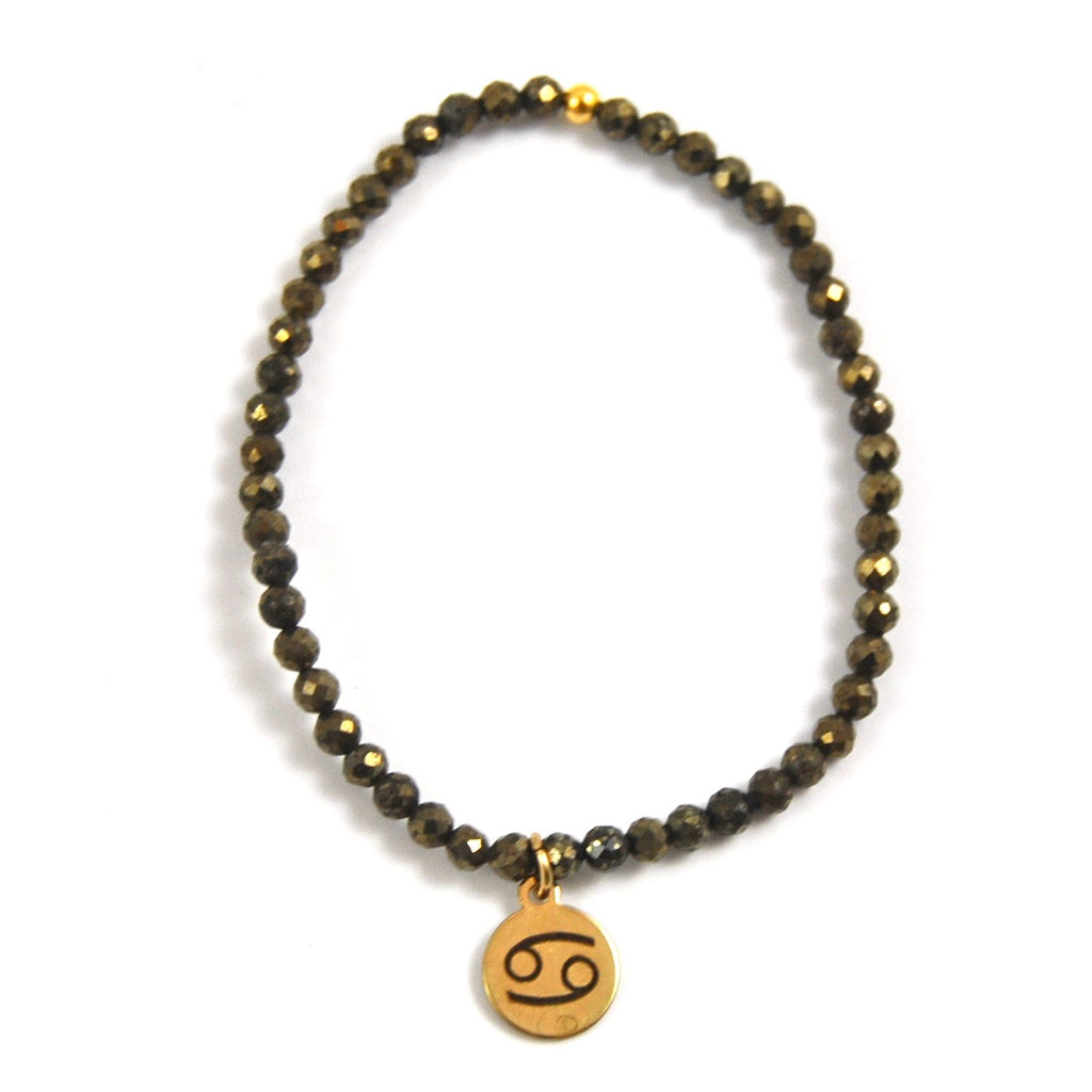 MINI PYRITE CANCER BRACELET - eff.Y.bee
