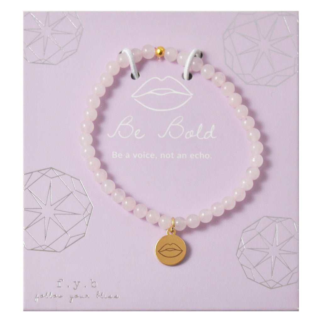 MINI ROSE QUARTZ BE BOLD - eff.Y.bee
