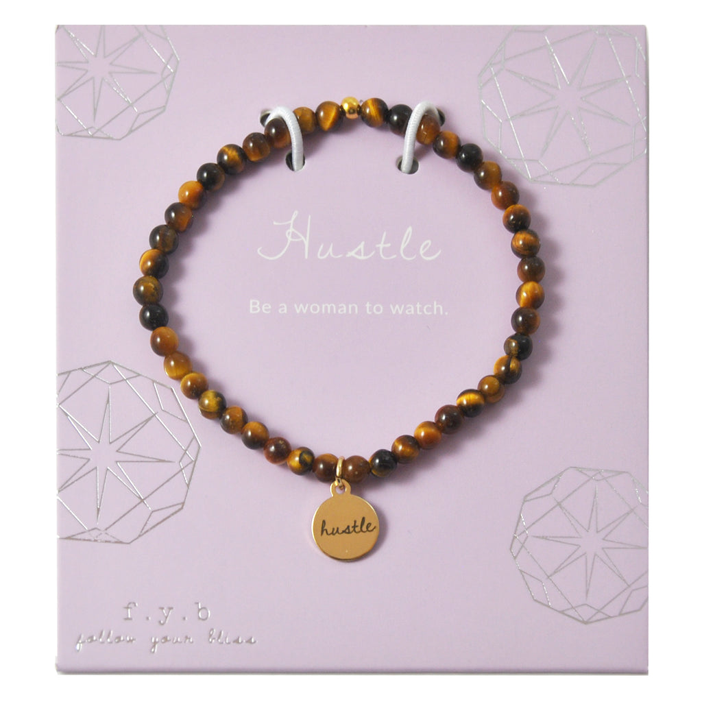 MINI TIGERS EYE HUSTLE - eff.Y.bee