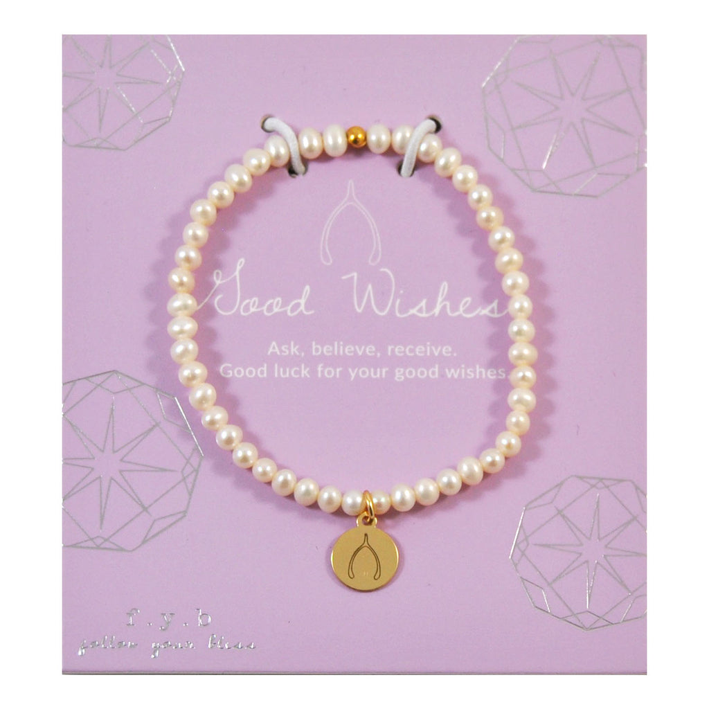 MINI FRESH WATER PEARL WISHBONE - eff.Y.bee