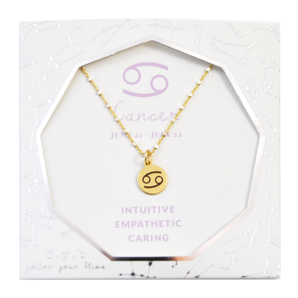 Cancer Charm Necklace - eff.Y.bee