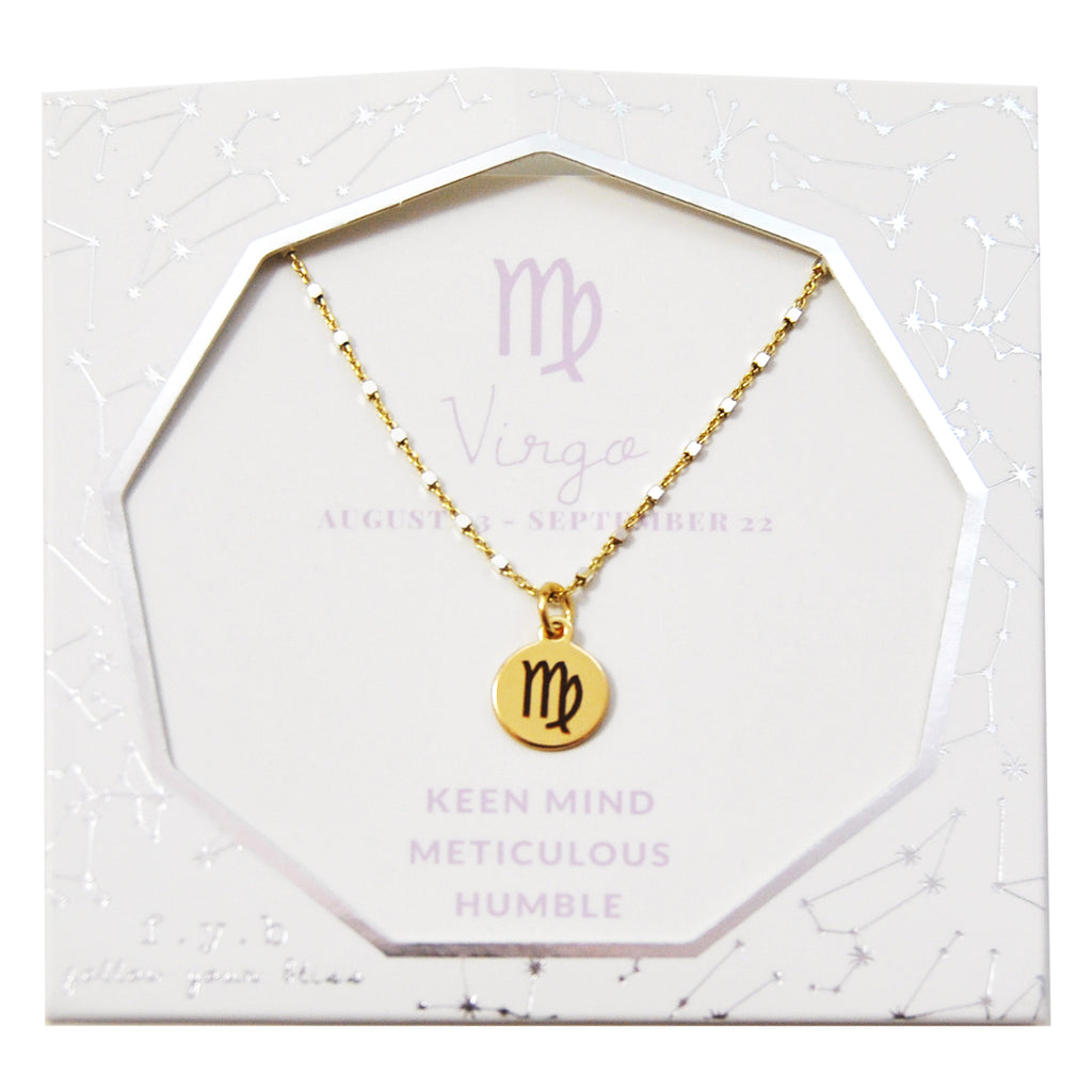 Virgo Charm Necklace