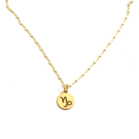 Scorpio Charm Necklace