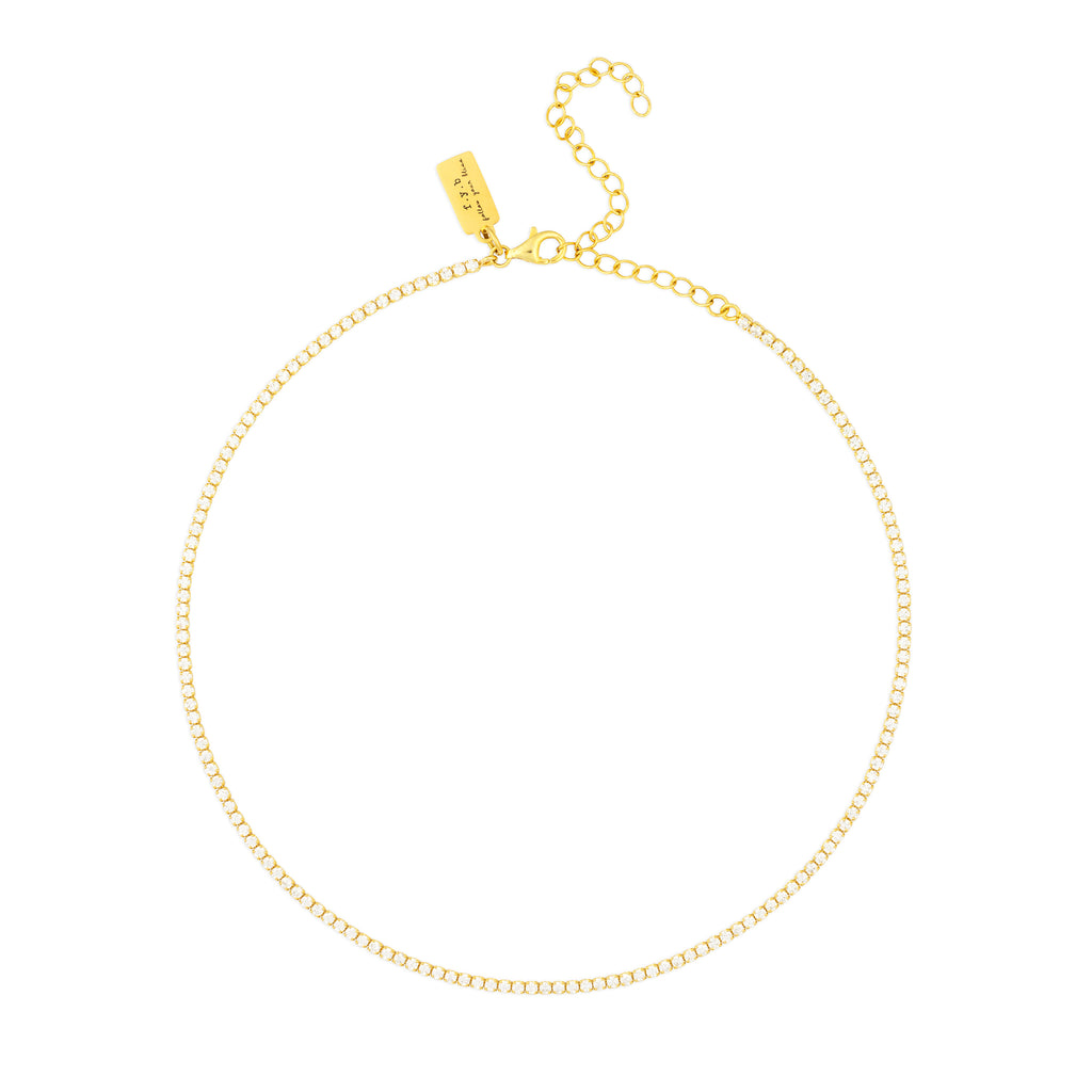 DIANA CHOKER NECKLACE GOLD