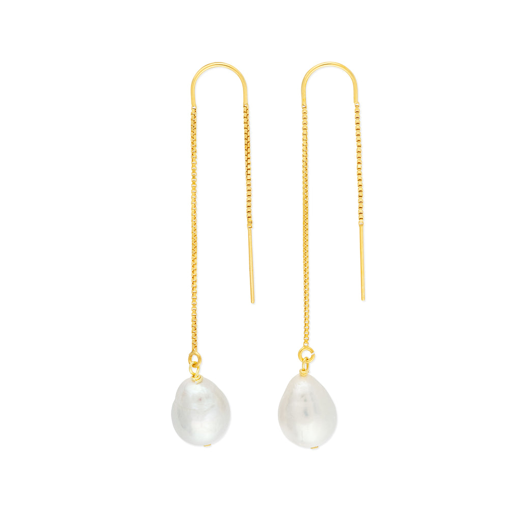 KIRI THREADERS PEARL GOLD