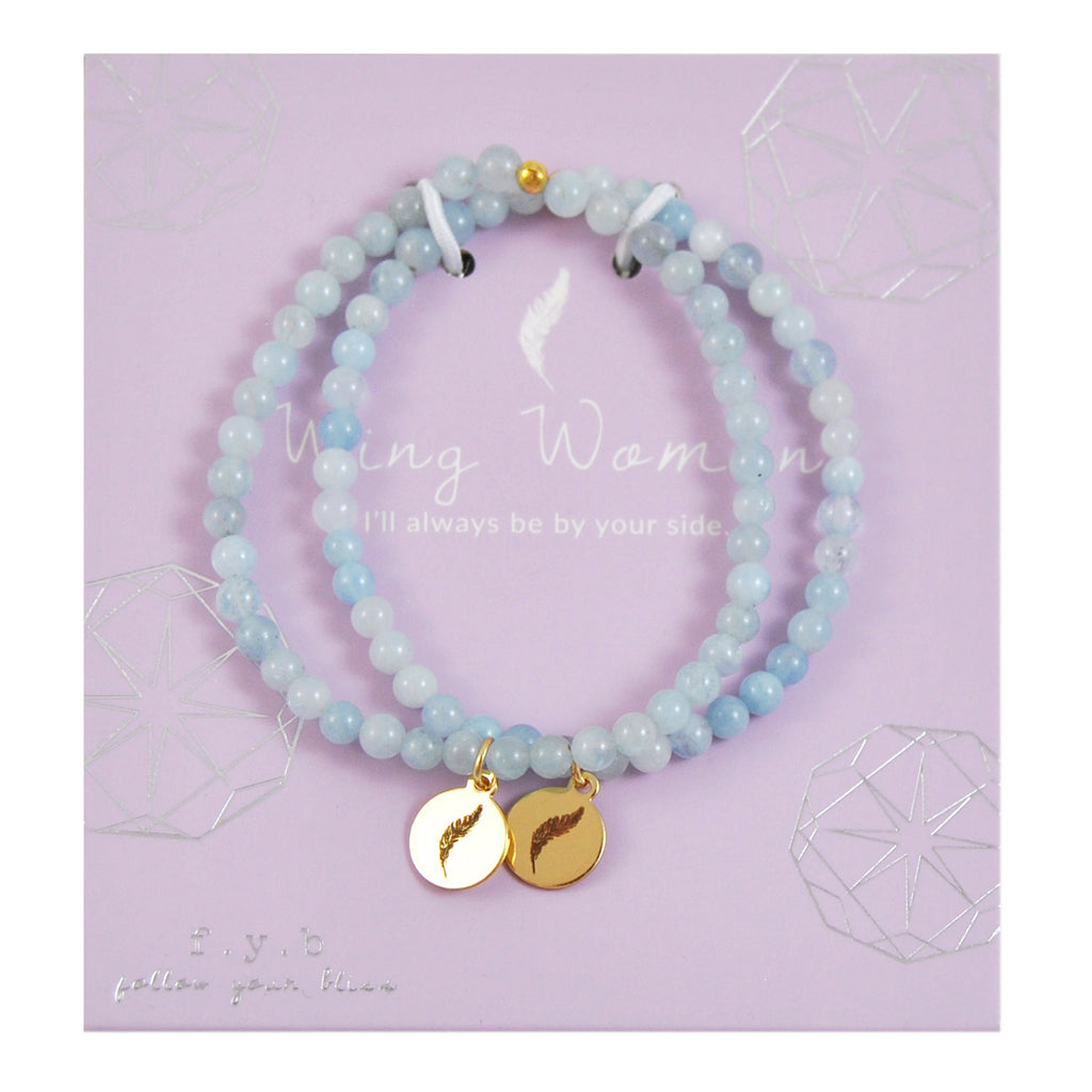 MINI AQUAMARINE WING WOMAN SET - eff.Y.bee