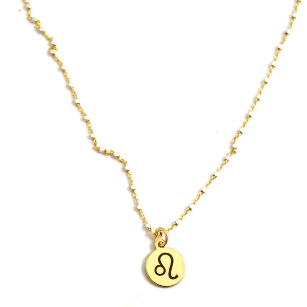LEO CHARM NECKLACE - eff.Y.bee