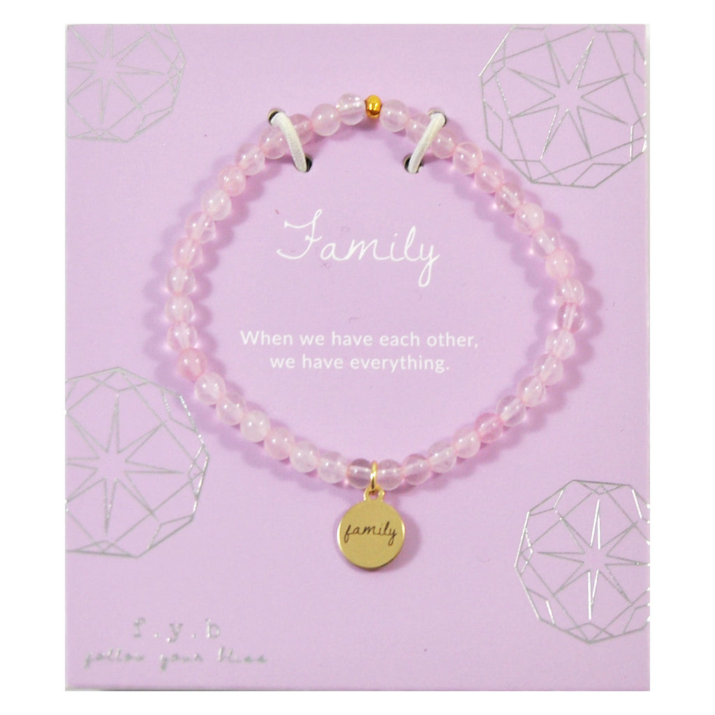 MINI ROSE QUARTZ FAMILY - eff.Y.bee