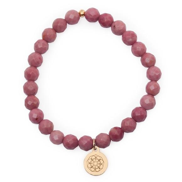Customize Your Charm - Rhodonite Self-love Bliss Bracelet - eff.Y.bee