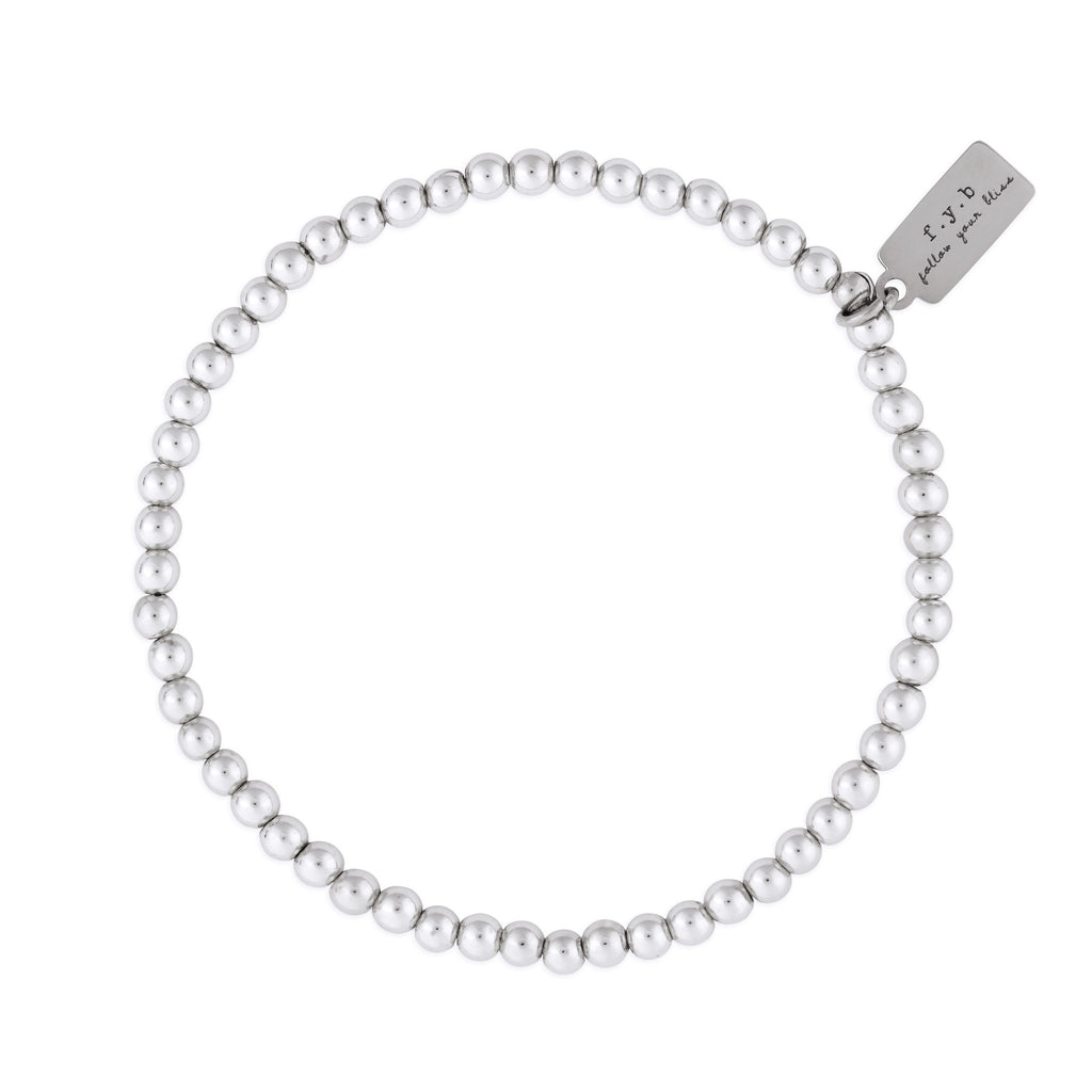 MINI SILVER STAPLE BRACELET