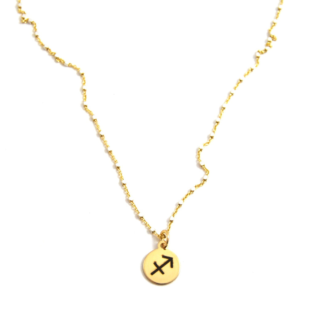 Sagittarius Charm Necklace - eff.Y.bee