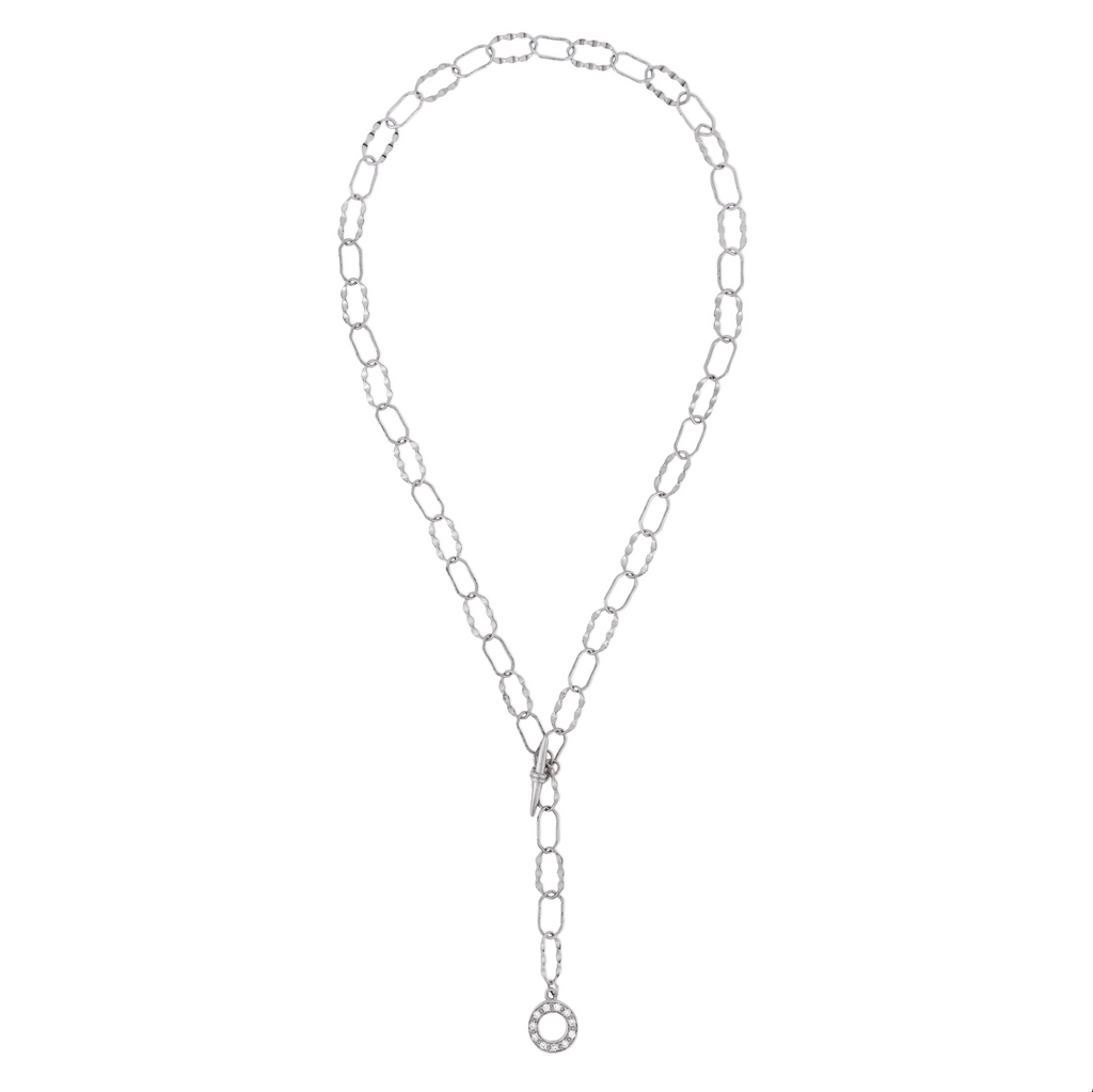 ESME CHAIN NECKLACE  SILVER