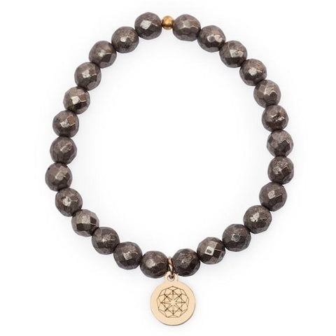 Customize Your Charm - Pyrite Strength Bliss Bracelet
