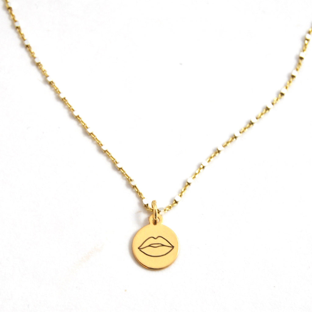 SHIMMER CHARM NECKLACE BE BOLD - eff.Y.bee