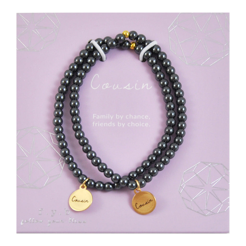 MINI HEMATITE COUSIN SET - eff.Y.bee