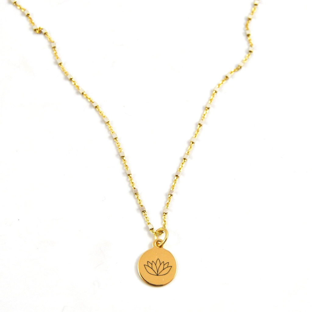 SHIMMER CHARM NECKLACE PERSEVERANCE - eff.Y.bee