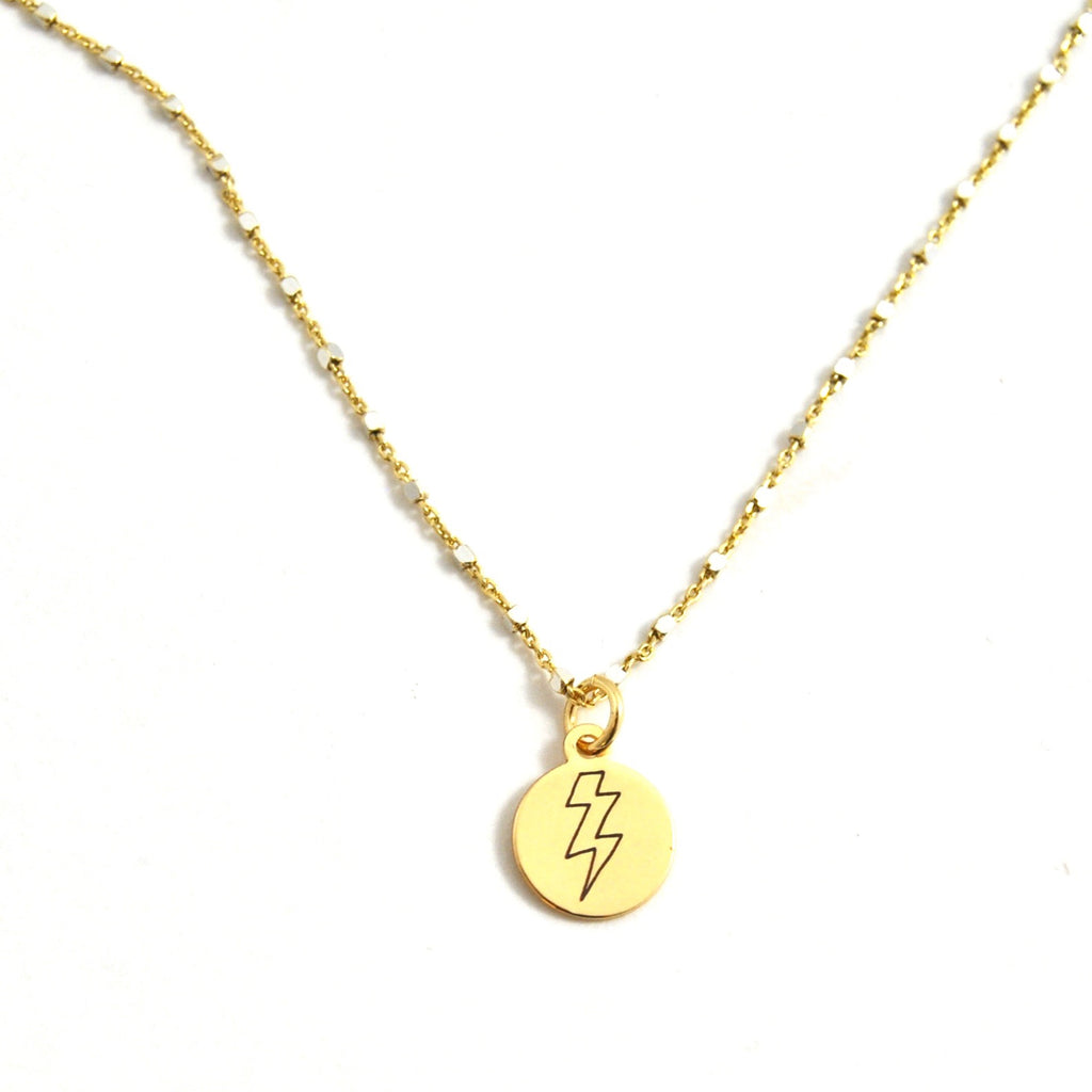 SHIMMER CHARM NECKLACE POWERFUL - eff.Y.bee