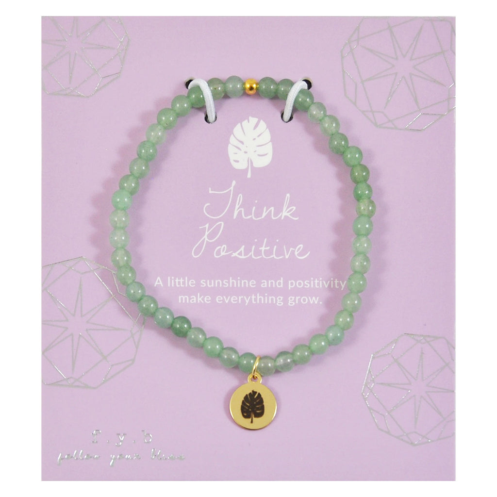 MINI AVENTURINE THINK POSITIVE - eff.Y.bee