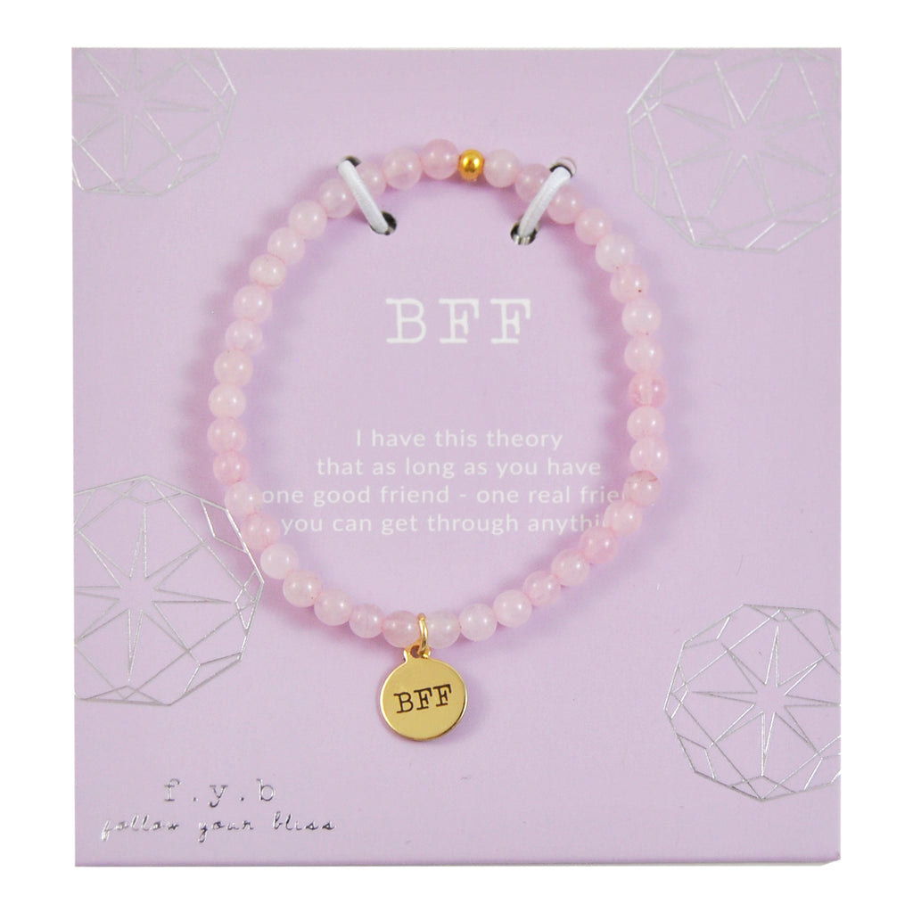 MINI ROSE QUARTZ BFF - eff.Y.bee