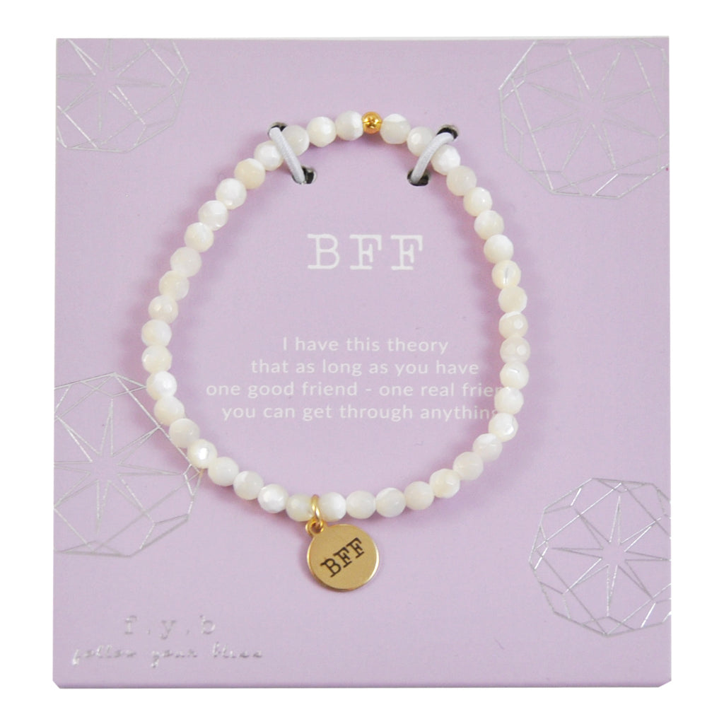 MINI MOTHER OF PEARL BFF - eff.Y.bee