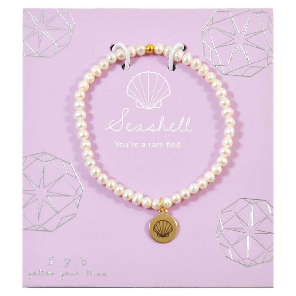 MINI FRESH WATER PEARL SEASHELL - eff.Y.bee