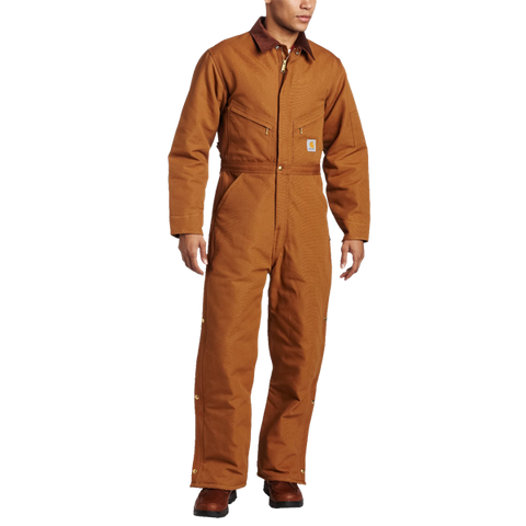 Carhartt Men's Duck Coverall Quilted Lined