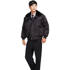cx166 multifunctional coat winter security short coat security clothing winter clothes