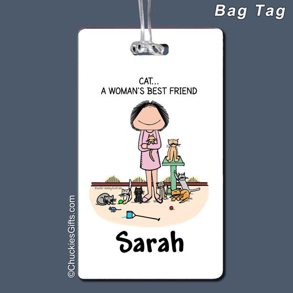 Cat Lover Bag Tag | Value Collection