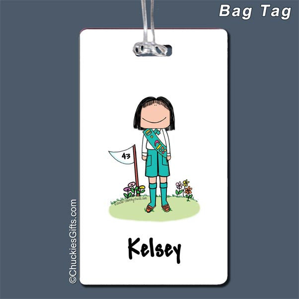 Girl Scout / Boy Scout Bag Tag   | Value Collection