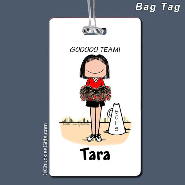 Cheerleader Bag Tag | Value Collection