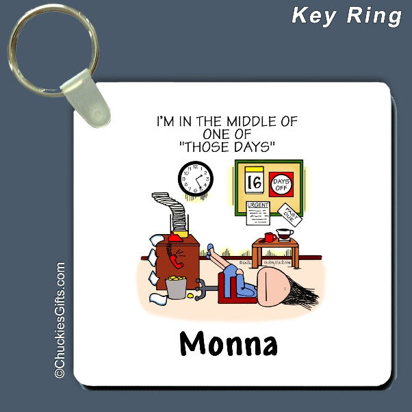 Those Days Office Key Ring | Value Collection