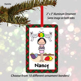 Birthday Ornament Female - Personalized