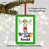 Birthday Ornament Male - Personalized