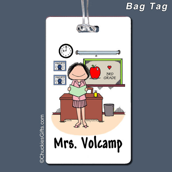 Teacher Bag Tag | Value Collection