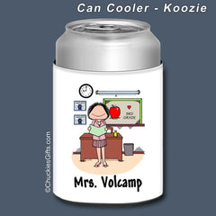 Teacher Can Cooler Female Personalized