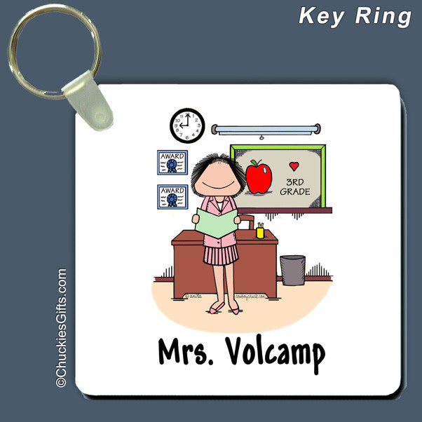 Teacher Key Ring | Value Collection