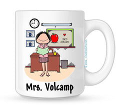 Personalized Teacher Mug - Female