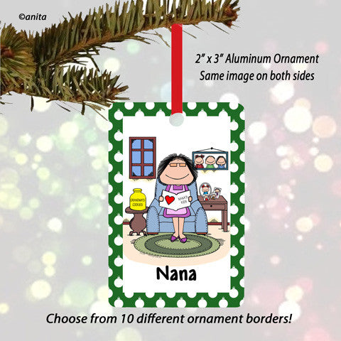 Grandmother Ornament Female - Personalized
