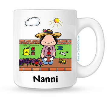 Gardening Mug Female Personalized