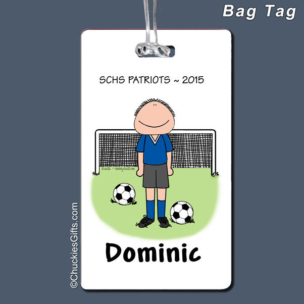 Soccer Bag Tag | Value Collection