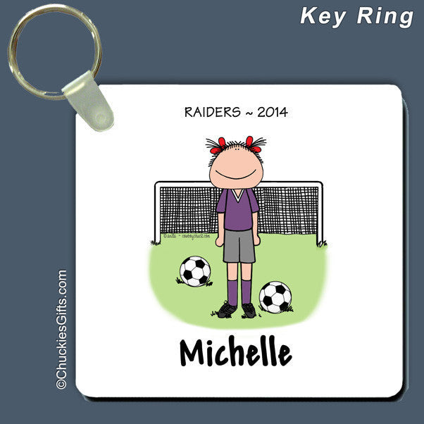 Soccer Key Ring | Value Collection