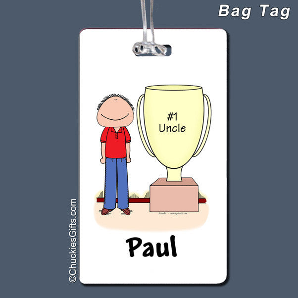 Trophy Award Bag Tag | Value Collection