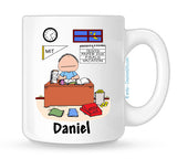 Student Mug Male Personalized
