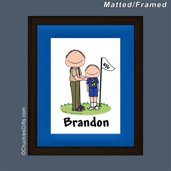 Brownie Leader / Cub Scout Leader Mat/Frame | Value Collection ...