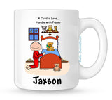 Prayers Mug Male Personalized