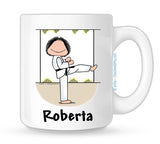Martial Arts Mug Female Personalized