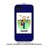 Golfer Phone Case Male - Personalized