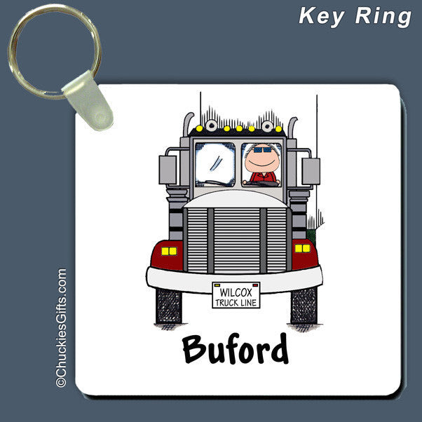 Truck Driver Key Ring  | Value Collection